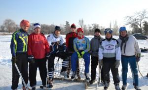Северодонецк-хоккей с мячом
